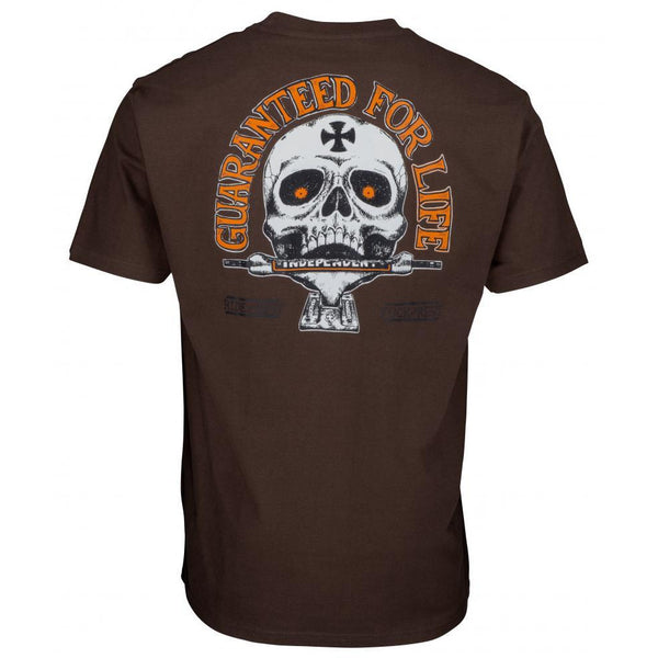 INDEPENDENT GUARANTEED T-SHIRT - DARK CHOCOLATE