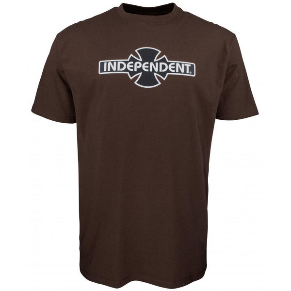 INDEPENDENT O.G.B.C T-SHIRT - DARK CHOCOLATE