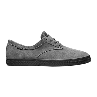 HUF SUTTER SKATE SHOES - CHARCOAL/BLACK