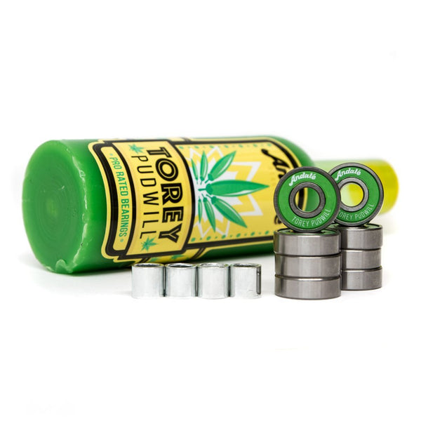 ANDALE TOREY PUDWILL GREEN SAUCE WAX & BEARINGS