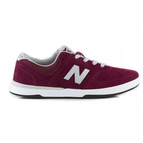 NEW BALANCE PJ STRATFORD 533 SKATE SHOES - BURGUNDY