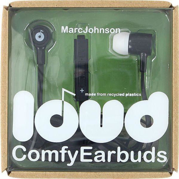 LOUD FAT AND FLAT MARC JOHNSON EARBUDS - BLACK
