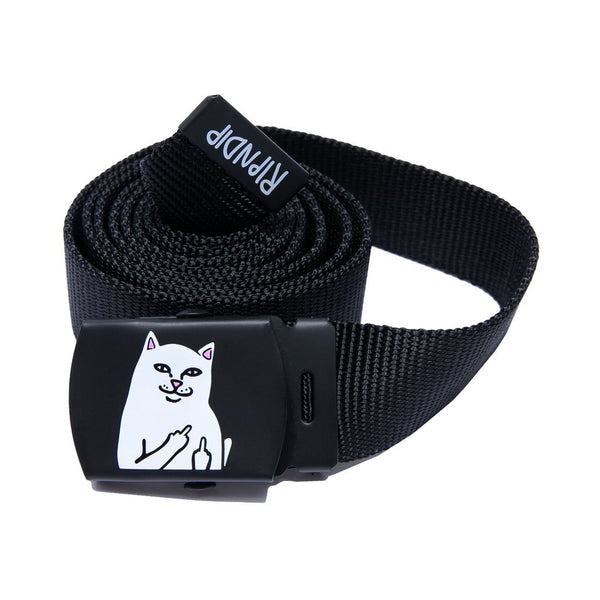 RIPNDIP LORD NERMAL WEB BELT - BLACK