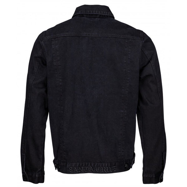 SANTA CRUZ DRESSEN ROSE KIT JACKET - BLACK