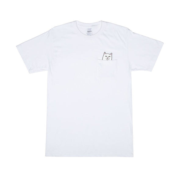 RIPNDIP LORD NERMAL POCKET T-SHIRT - WHITE