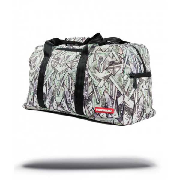 SPRAYGROUND ORIGAMI MONEY DUFFLE BAG