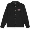 HUF DROPOUT COACHES JACKET - BLACK