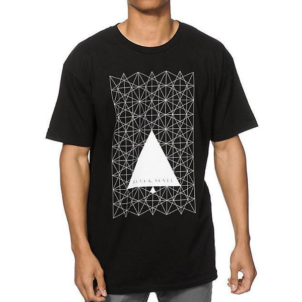 BLACK SCALE STAR ANGLE T-SHIRT - BLACK
