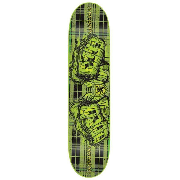 CREATURE SKATEBOARDS STU GRAHAM LIVI SCUM SKATEBOARD DECK