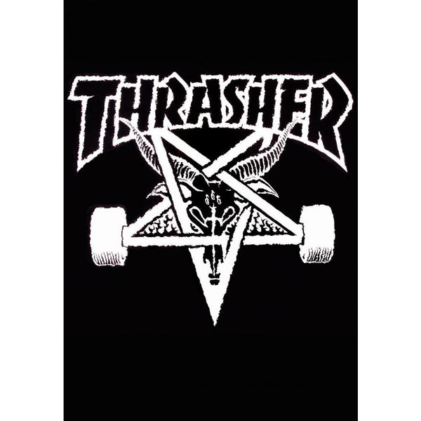 THRASHER SKATEGOAT BLANKET - BLACK