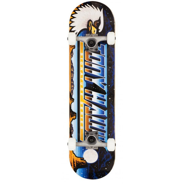 TONY HAWK SS 180 MOONSCAPE COMPLETE SKATEBOARD MULTI - 8""