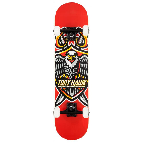 TONY HAWK SS 540 TOUCHDOWN COMPLETE SKATEBOARD RED - 7.5""