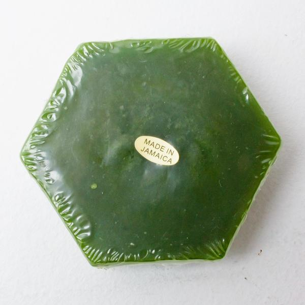 GANJ LARGE SKATEBOARD WAX - DARK GREEN