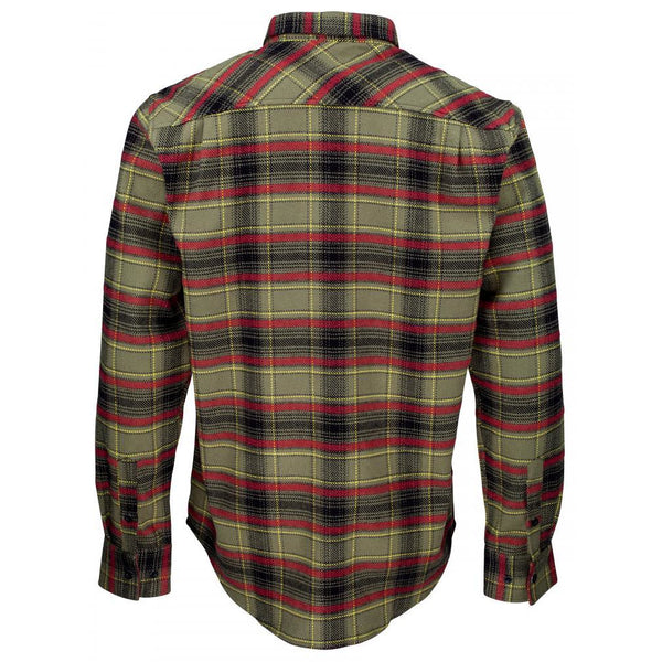 SANTA CRUZ PACIFICA SHIRT - MILITARY GREEN / BLACK