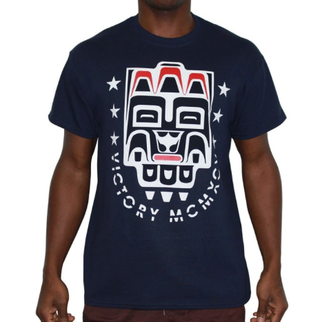 10 DEEP MASCOT T-SHIRT - NAVY
