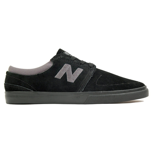 NEW BALANCE BRIGHTON 344 SKATE SHOES - BLACK SUEDE