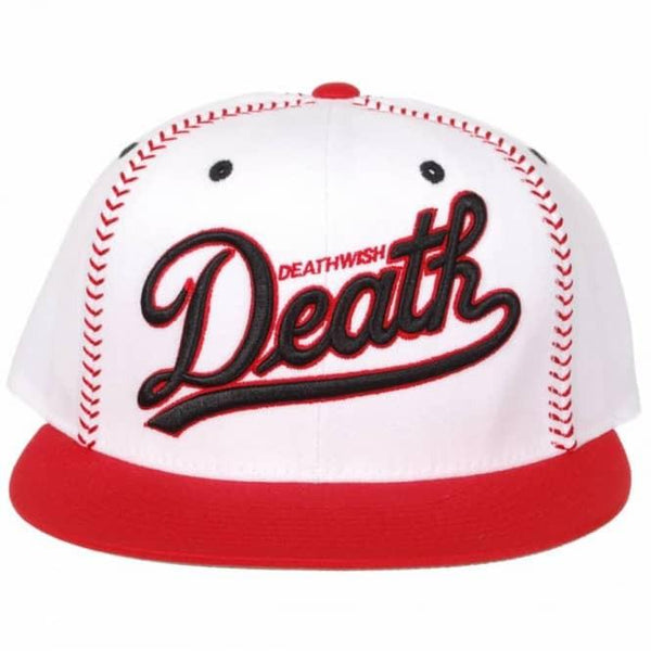 DEATHWISH DRAGON SNAPBACK - RED/WHITE