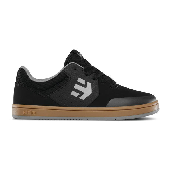 ETNIES MARANA SKATEBOARD SHOES - BLACK/GUM/GREY