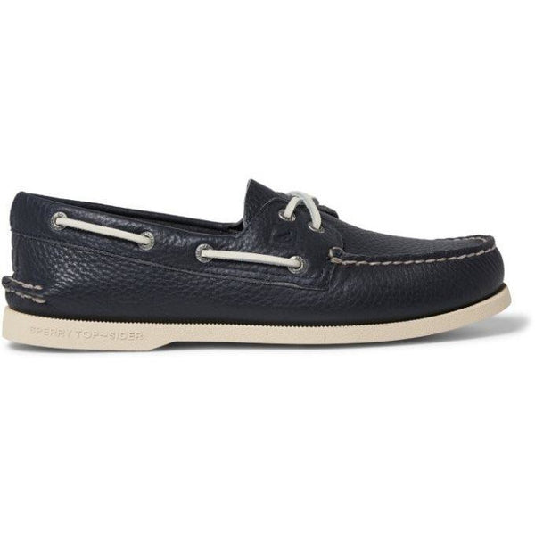 SPERRY AUTHENTIC ORIGINAL MENS BOAT SHOE - NAVY