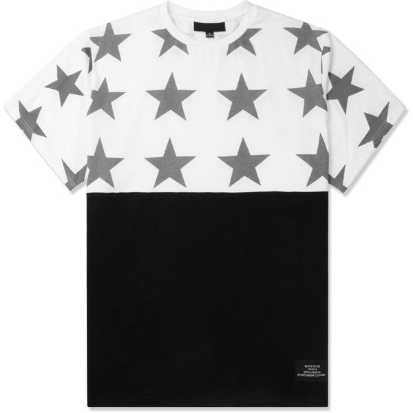 BLACK SCALE ALL STAR T-SHIRT - WHITE