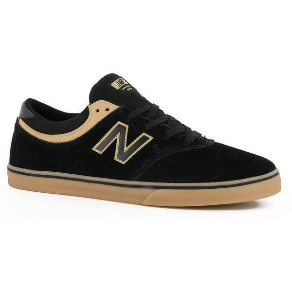 NEW BALANCE NUMERIC QUINCY 254 SKATE SHOES - BLACK/TAN