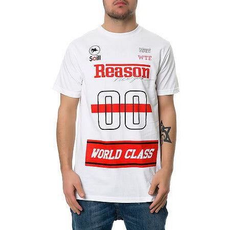 REASON WORLD CLASS T-SHIRT - WHITE