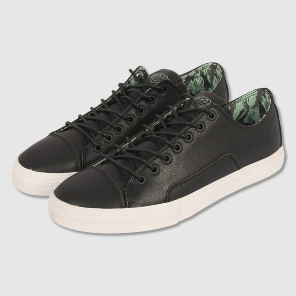 DIAMOND SUPPLY CO BRILL LOW LX SKATE SHOES - BLACK