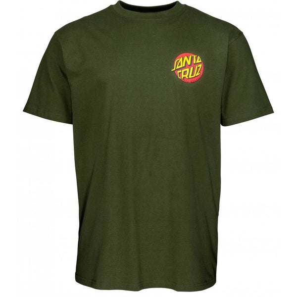 SANTA CRUZ SALBA BABY STOMPER T-SHIRT - MILITARY GREEN
