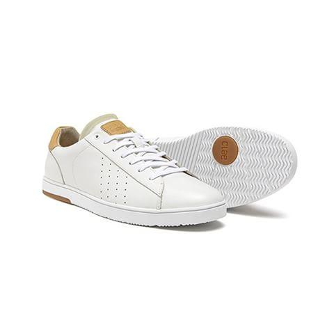 CLAE ARTHUR SHOES - WHITE LEATHER