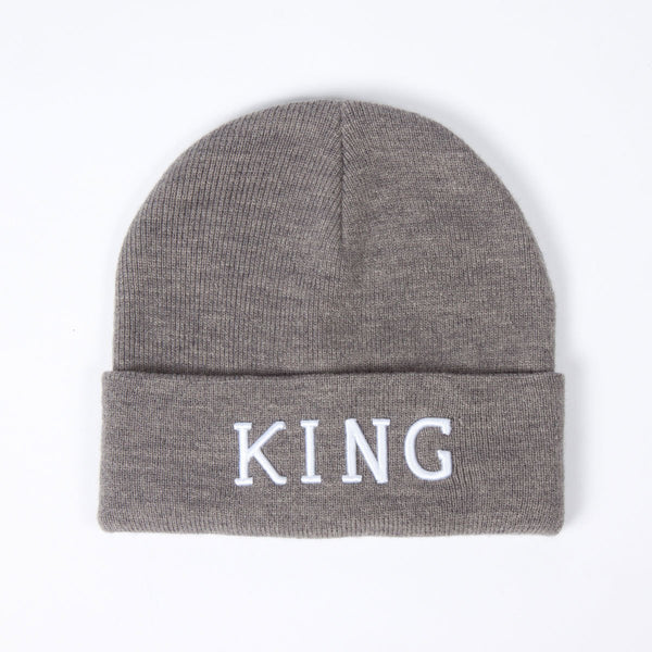 KING APPAREL STAPLE BEANIE - GREY