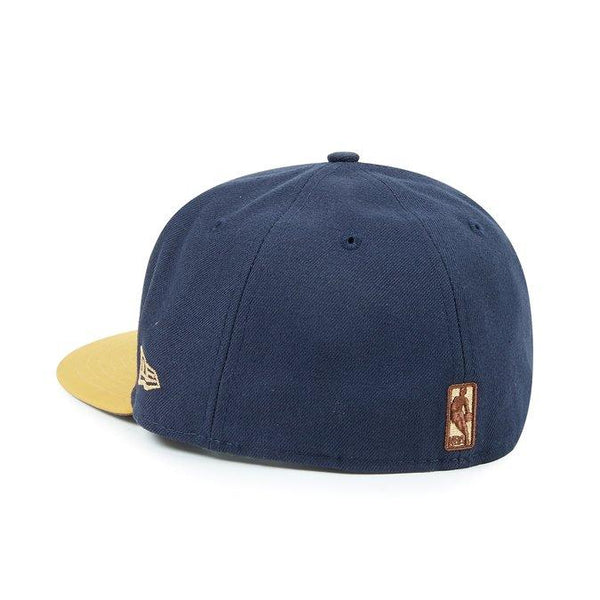 NEW ERA BUCK TONE MIAMI HEAT FITTED CAP - NAVY