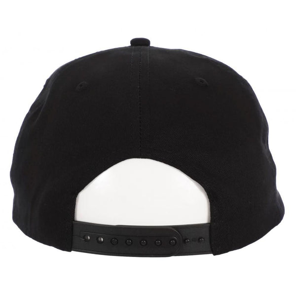 THRASHER OUTLINED SNAPBACK CAP - BLACK
