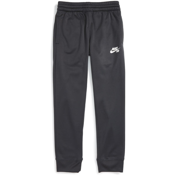 NIKE SB YOUTH LOGO THERMA-FIT JOGGERS - ANTHRACITE