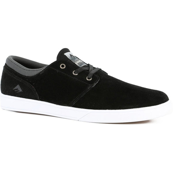 EMERICA THE FIGUEROA SKATE SHOES- BLACK & WHITE
