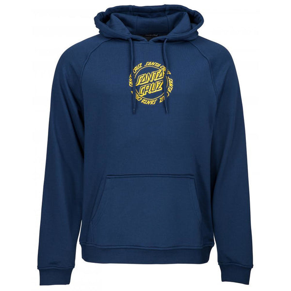 SANTA CRUZ RINGED EMBROIDED HOODIE - INDIGO