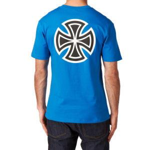 INDEPENDENT BAR CROSS T-SHIRT - ROYAL BLUE