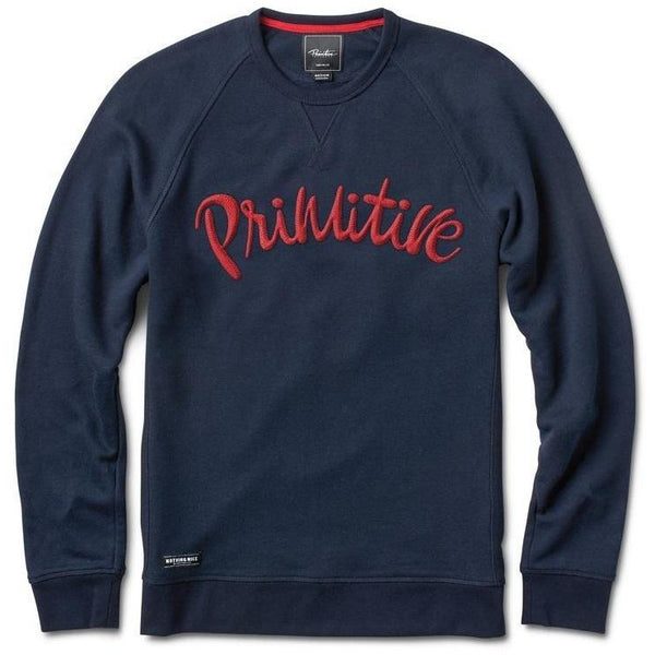 PRIMITIVE JP CHAIN CREWNECK - MIDNIGHT
