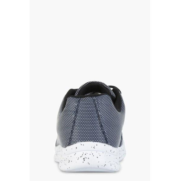 OILL BLURRED SIGNATURE SHOE - NAVY