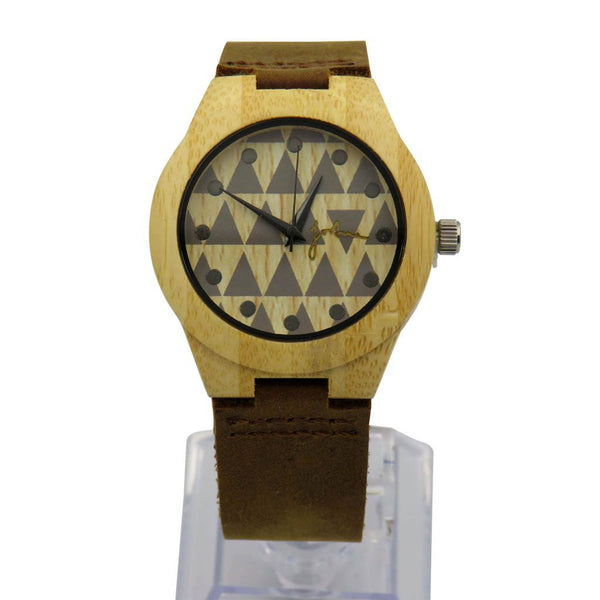 FORTUNE FORTY SIX THE STAR GAZER WHITE BAMBOO WATCH