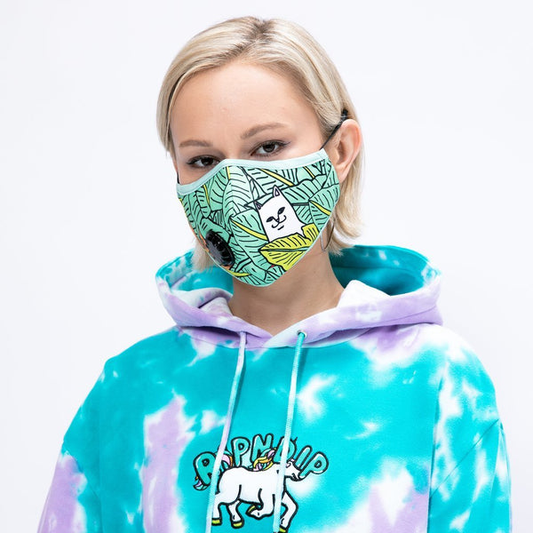 RIPNDIP NERMAL LEAF VENTILATED MASK -GREEN