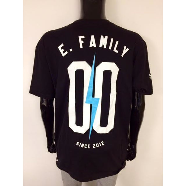 ELECTRIC FAMILY EF T-SHIRT - BLACK