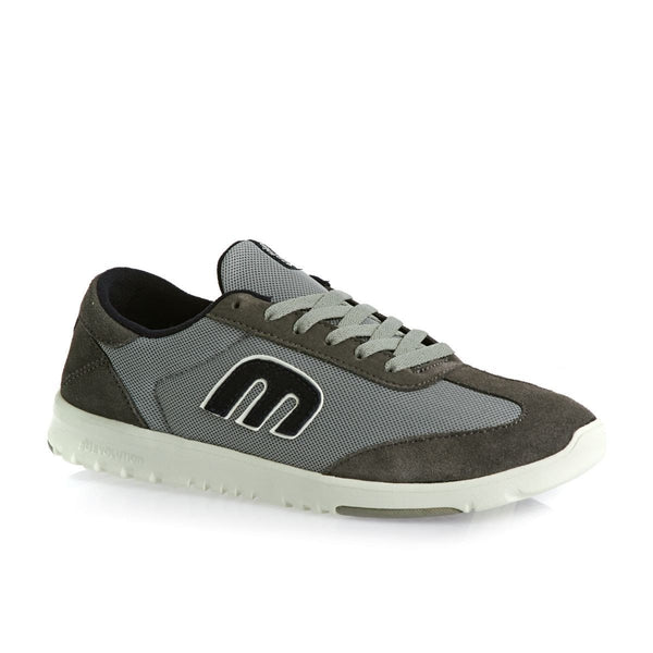 ETNIES LO-CUT SC SKATEBOARD SHOES - GREY/LIGHT GREY