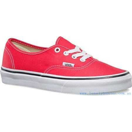 VANS ERA SKATE SHOES - CAYENNE