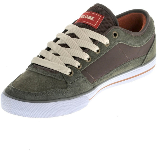 GLOBE TB SKATEBOARD SHOES SHOES - GRAPE LEAF/DARK BROWN