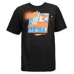 THE HUNDREDS ADAM BOMB  EIGHT ZERO T-SHIRT - BLACK