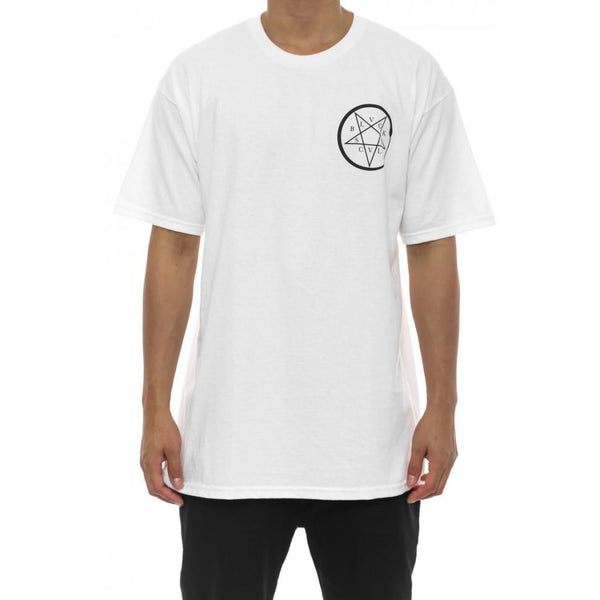 BLACK SCALE SQUAMADA T-SHIRT - WHITE