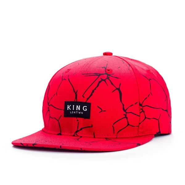 KING APPAREL ETHICS SNAPBACK HAT - RED