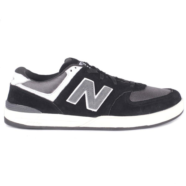 NEW BALANCE LOGAN-S 636 SKATE SHOES - BLACK/GREY