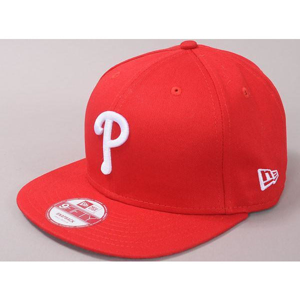 NEW ERA MLB 9FIFTY PHIPHI - RED
