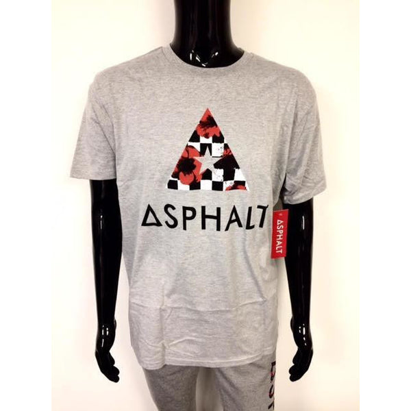 ASPHALT YACHT CLUB RPM DELTA T-SHIRT - GREY